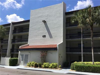 Fort Myers Condo/Townhouse For Sale: 4396 Bowsprit Ct #1E