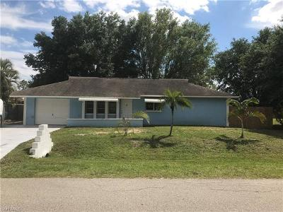 Lehigh Acres Single Family Home For Sale: 4211 4th St W