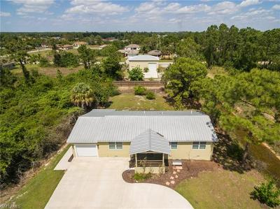 Lehigh Acres Single Family Home For Sale: 5300 4th St W