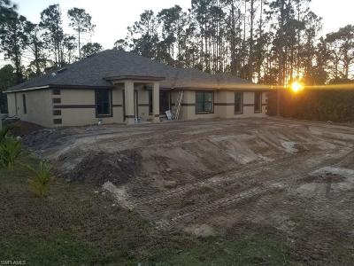 Lehigh Acres Single Family Home For Sale: 3413 2nd St SW
