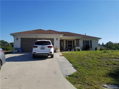 Lehigh Acres Single Family Home For Sale: 3805 21st St W