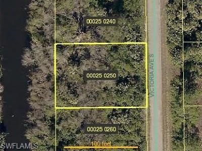 Lehigh Acres Residential Lots & Land For Sale: 190 Victoria Ave S