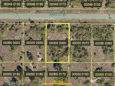 Lehigh Acres Residential Lots & Land For Sale: 2811 43rd St W