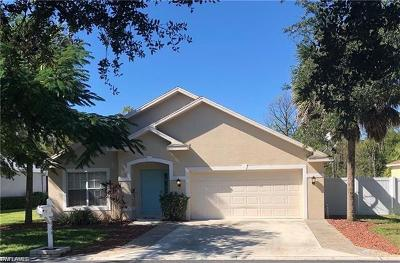Fort Myers Single Family Home For Sale: 8904 Cypress Preserve Pl