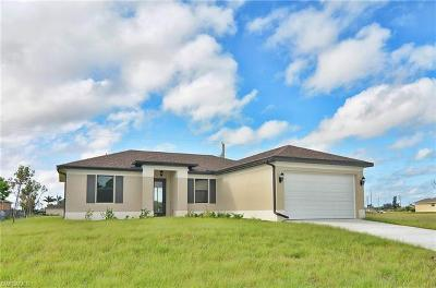 Cape Coral Single Family Home For Sale: 2528 NW 24th Ter