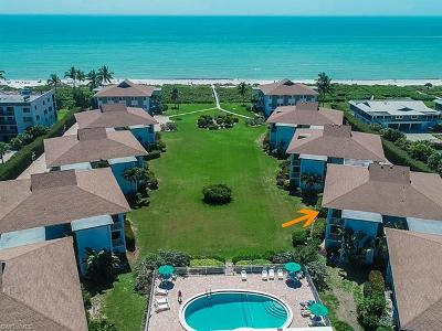 Captiva, Sanibel Condo/Townhouse For Sale: 1341 Middle Gulf Dr #11A