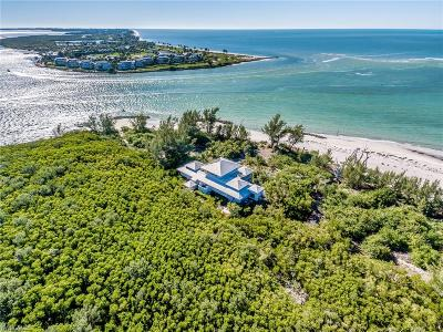Captiva, Sanibel Single Family Home For Sale: 12900 S Banks Dr