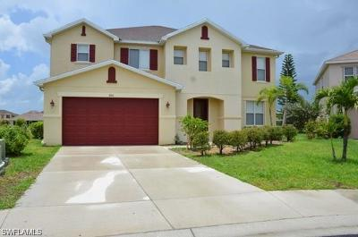 Lehigh Acres Single Family Home For Sale: 8120 Blue Daze Ct