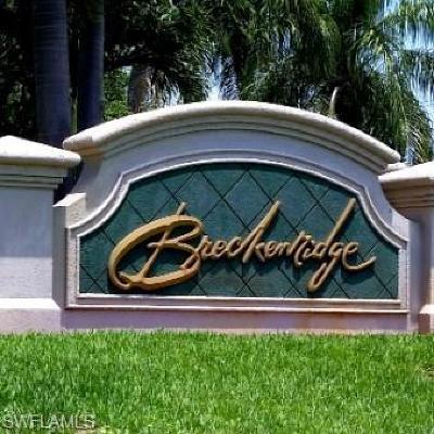 Estero Condo/Townhouse For Sale: 19870 Breckenridge Dr #508