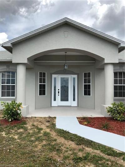 Cape Coral Single Family Home For Sale: 1309 NE 16th Ter