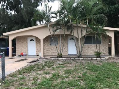 Fort Myers Single Family Home For Sale: 2938 Market St