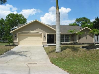 Cape Coral Single Family Home Pending With Contingencies: 1109 SW 16th Ter