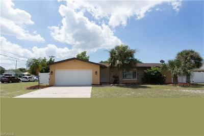 Cape Coral FL Single Family Home For Sale: $299,900