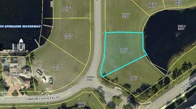 Tarpon Estates, Tarpon Gardens, Tarpon Landings, Tarpon Point Marina Residential Lots & Land For Sale: 6047 Tarpon Estates Blvd