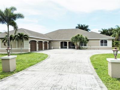 Bonita Springs, Cape Coral, Estero, Fort Myers, Fort Myers Beach, Lehigh Acres, Marco Island, Naples, Sanibel, Captiva Single Family Home For Sale: 1439 Rose Garden Rd