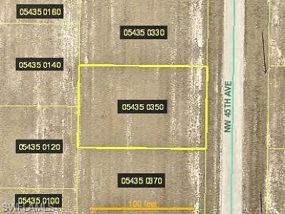 Cape Coral Residential Lots & Land For Sale: 3444 NW 45th Ave