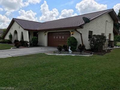 Lehigh Acres Single Family Home For Sale: 1436 Archer St
