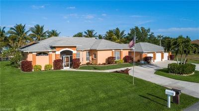 Cape Coral Single Family Home For Sale: 434 NW 38th Pl