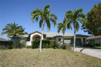 Cape Coral Single Family Home For Sale: 2223 SW 19th Pl