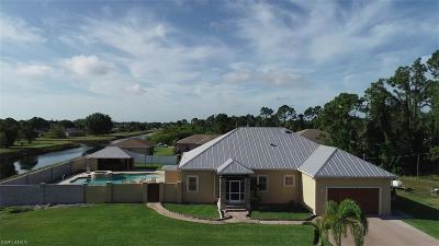 Lehigh Acres Single Family Home For Sale: 2501 6th St SW