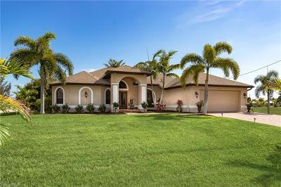 Cape Coral Single Family Home For Sale: 4018 NW 12th St