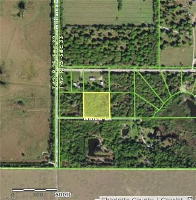 Fort Myers Residential Lots & Land For Sale: 38100 Willow Ln