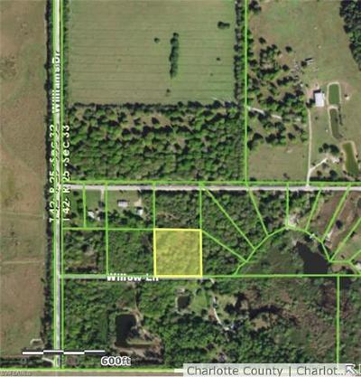Fort Myers Residential Lots & Land For Sale: 38150 Willow Ln