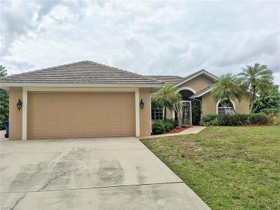 Bonita Springs Single Family Home Pending With Contingencies: 12422 Lake Shalimar Dr