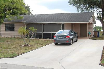 Lehigh Acres Single Family Home Pending With Contingencies: 10727 Guavatree Ct