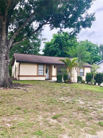 Labelle FL Single Family Home Pending With Contingencies: $115,000