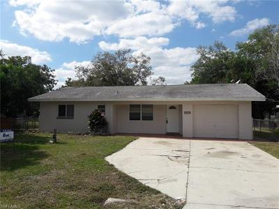 North Fort Myers Single Family Home For Sale: 186 Dawson Dr