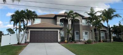 Cape Coral Single Family Home For Sale: 3819 SW 17th Pl