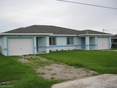 Lehigh Acres Multi Family Home For Sale: 2432 And 2434 Venice Ave N