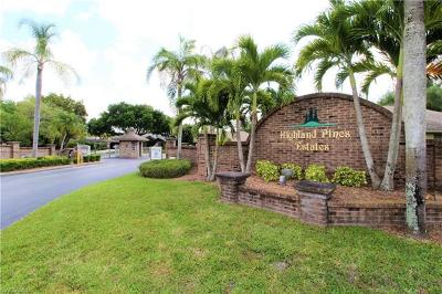 Fort Myers Single Family Home For Sale: 6601 Highland Pines Cir