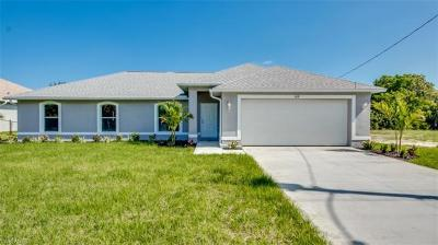Cape Coral Single Family Home For Sale: 109 SW 15th Ter