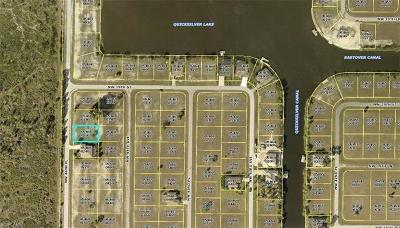 Cape Coral Residential Lots & Land For Sale: 3835 NW 44th Pl
