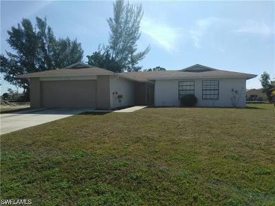 Cape Coral Single Family Home For Sale: 112 SW 28th St