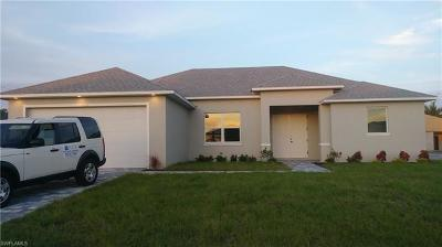 Cape Coral Single Family Home For Sale: 4129 SW 9th Pl