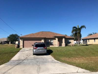 Cape Coral Single Family Home For Sale: 912 NW 15th Pl