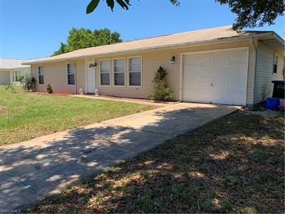 Cape Coral Single Family Home For Sale: 309 SE 15th Ter