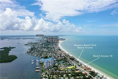 Fort Myers Beach Residential Lots & Land For Sale: 123 Gulfview Ave