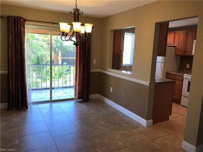 Fort Myers Condo/Townhouse For Sale: 12630 Kenwood Ln #C