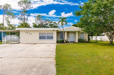 Fort Myers Single Family Home For Sale: 2342 Crystal Dr