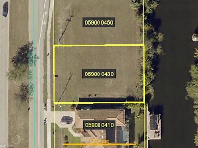 Cape Coral Residential Lots & Land For Sale: 2505 Surfside Blvd
