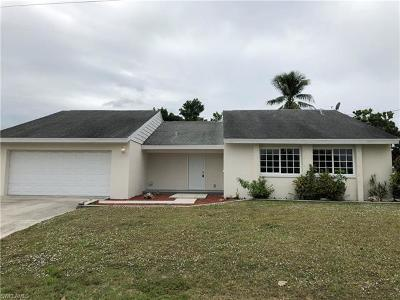 Cape Coral Single Family Home For Sale: 516 SE 20th Pl