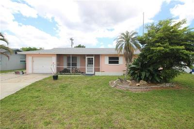 North Fort Myers Single Family Home For Sale: 1723 Inlet Dr
