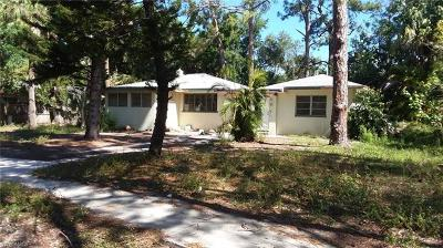 Fort Myers Single Family Home For Sale: 2251 South St