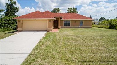 Lehigh Acres Single Family Home For Sale: 3125 40th St SW