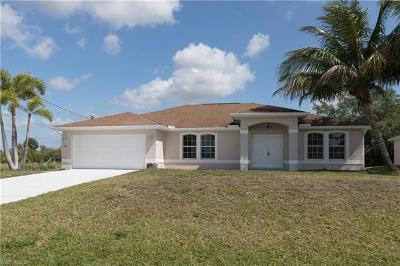 Cape Coral Single Family Home For Sale: 2713 SW 3rd St
