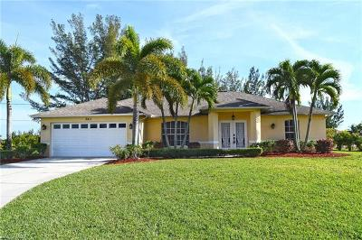 Cape Coral Single Family Home For Sale: 3411 SW 17th Pl